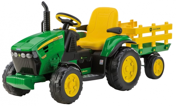 Peg perego traktor john deere ground force anhänger ebay