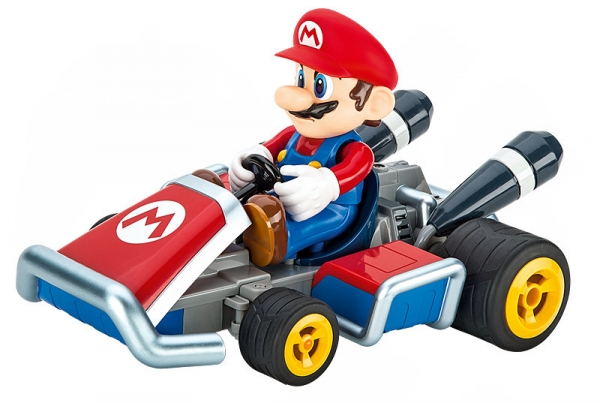 carrera rc mario kart 7 mario ferngesteuertes auto ebay. Black Bedroom Furniture Sets. Home Design Ideas