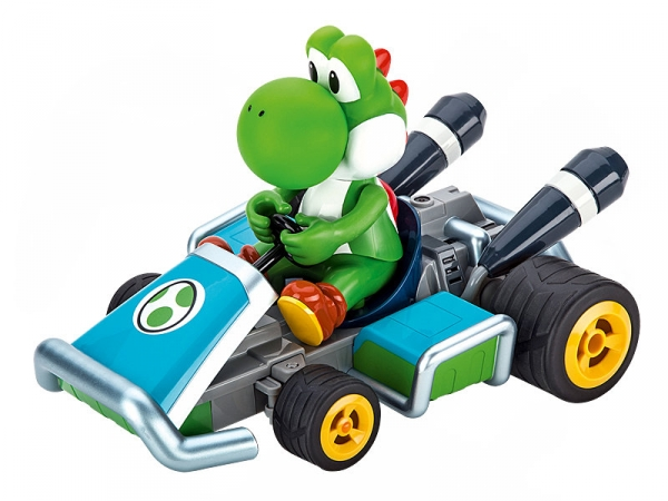 carrera rc mario kart 7 yoshi ferngesteuertes auto ebay. Black Bedroom Furniture Sets. Home Design Ideas